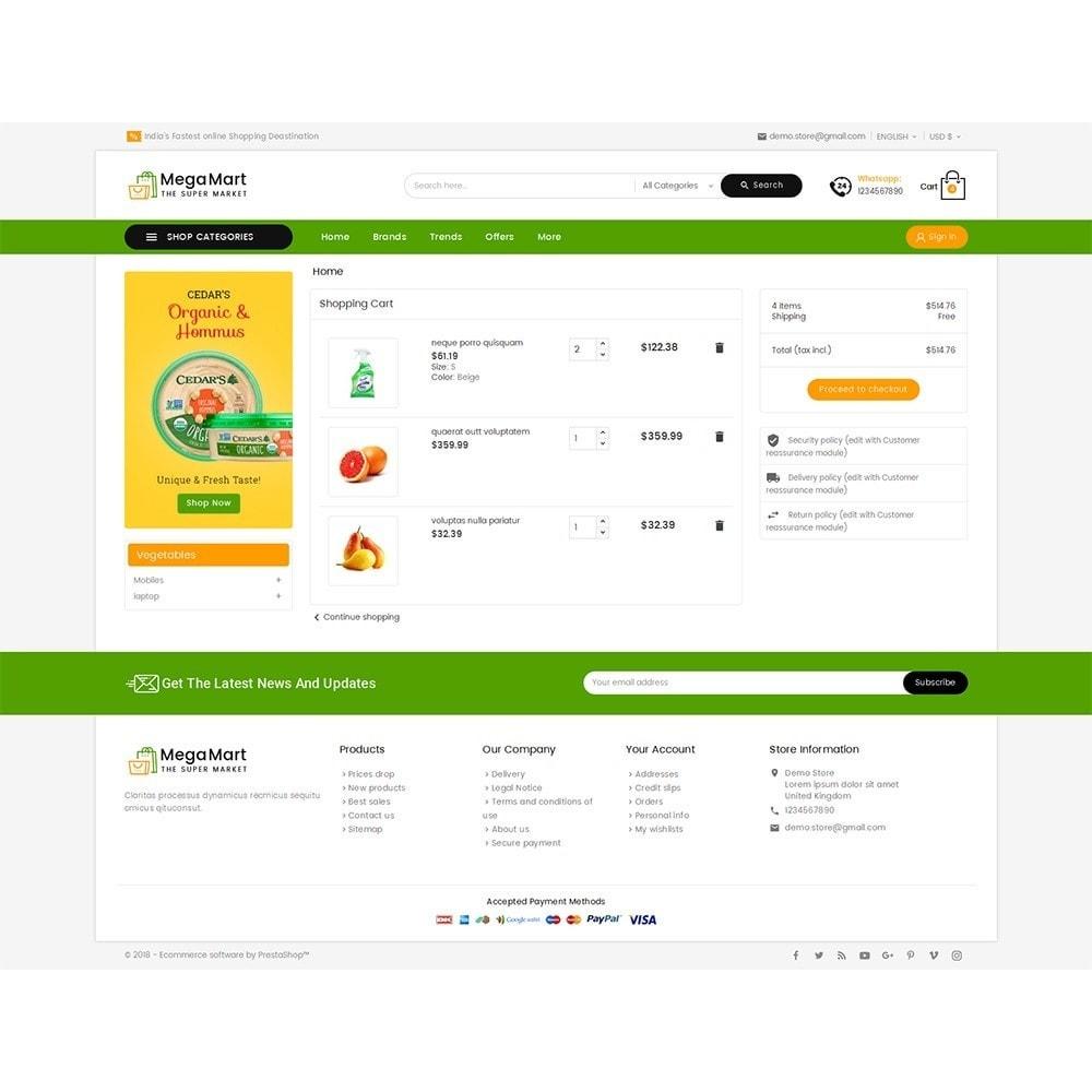 theme - Gastronomía y Restauración - Mega Mart Grocery - 7
