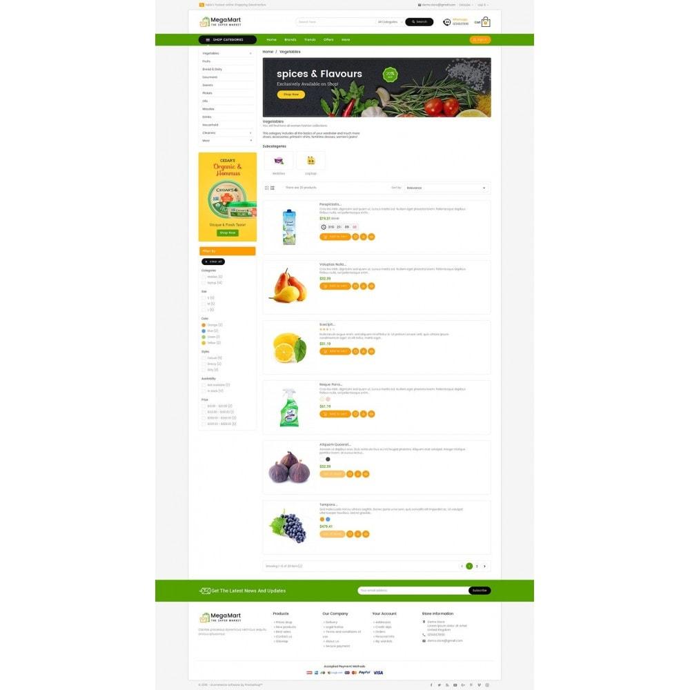 theme - Cibo & Ristorazione - Mega Mart Grocery - 5