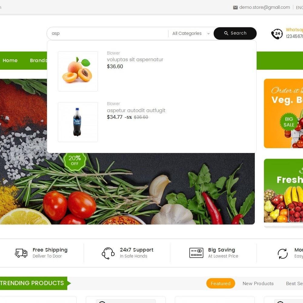 theme - Cibo & Ristorazione - Mega Mart Grocery - 11