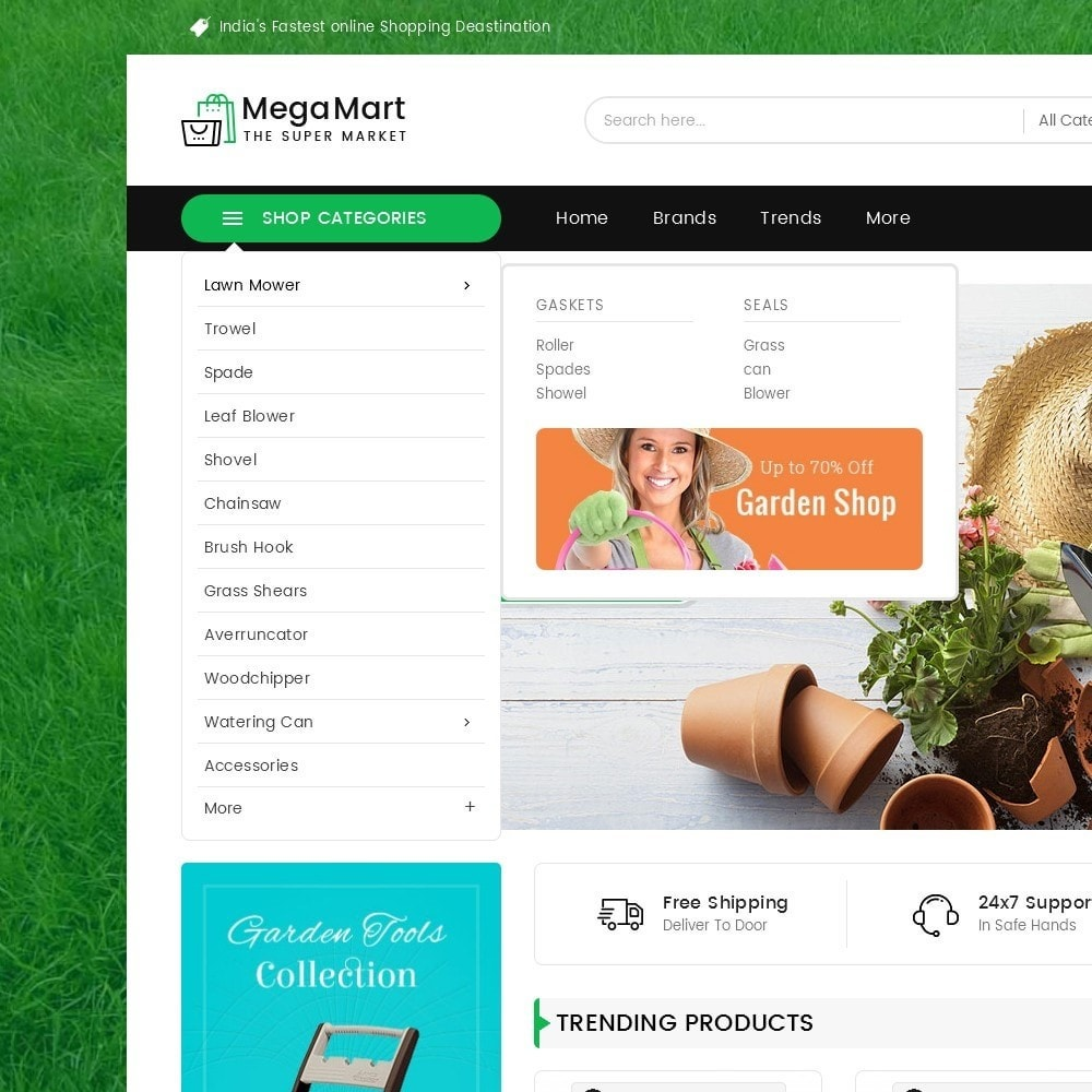 theme - Heim & Garten - Mega Mart Gardening Tools - 10