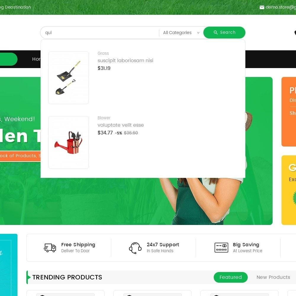 theme - Heim & Garten - Mega Mart Gardening Tools - 11