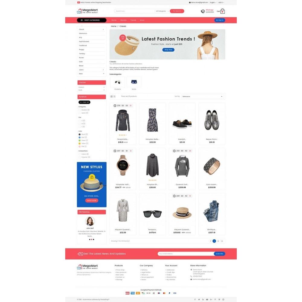 theme - Moda y Calzado - Mega Mart Fashion Apparel - 8