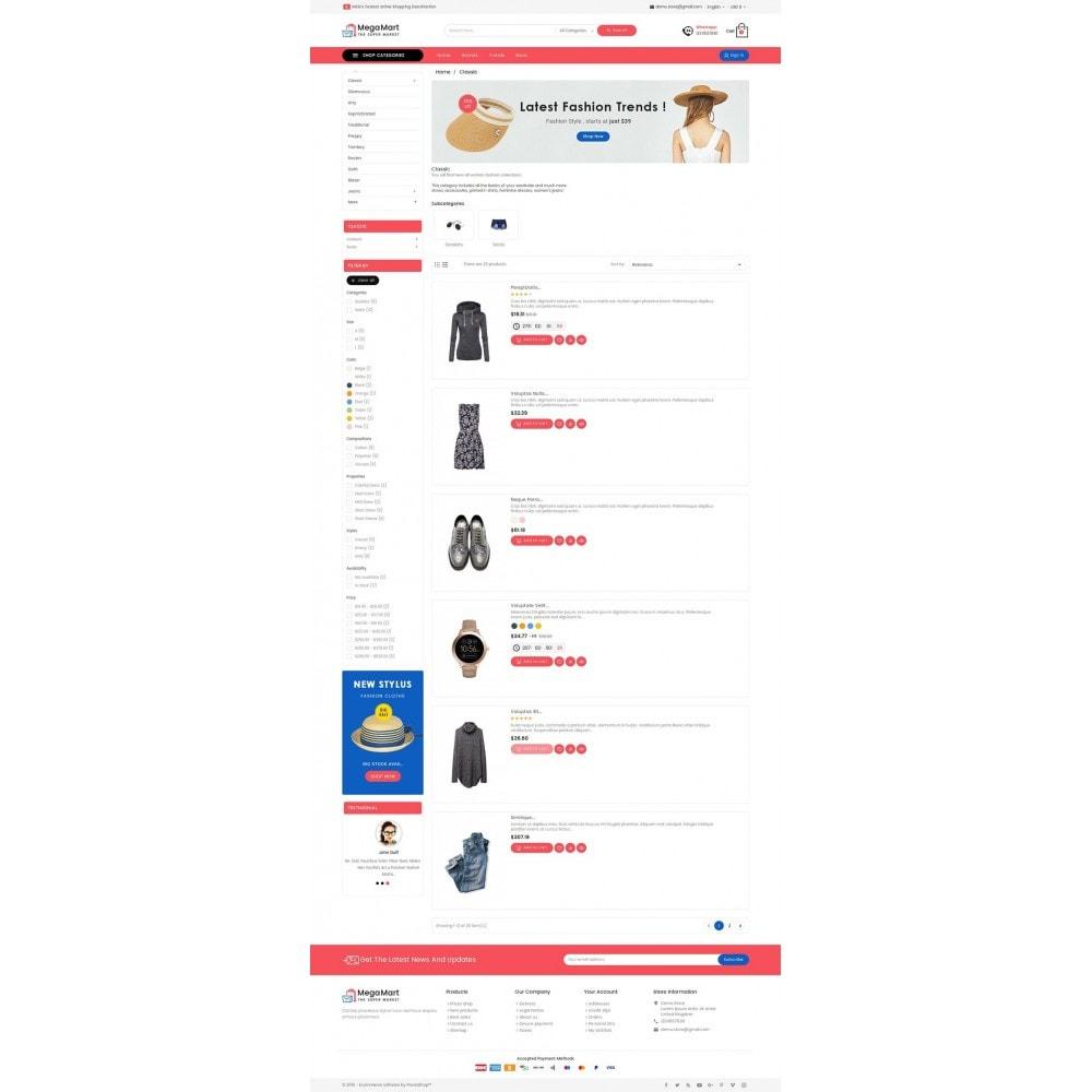 theme - Moda & Calzature - Mega Mart Fashion Apparel - 5
