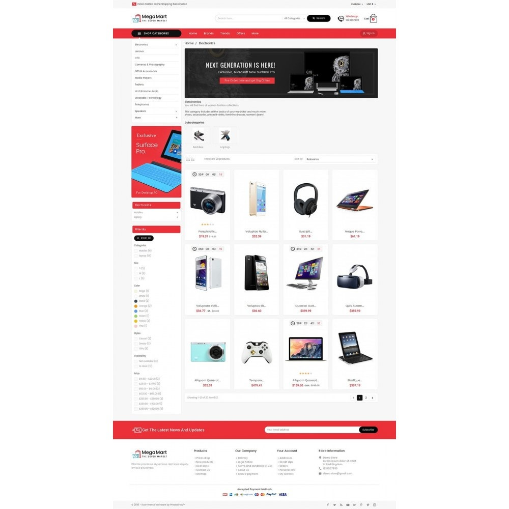 theme - Electronique & High Tech - Mega Mart Electronics - 4