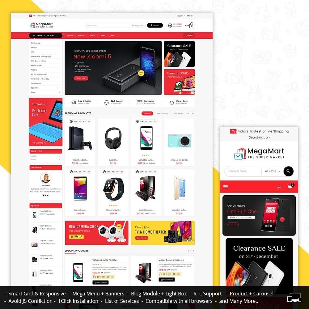 theme - Electrónica e High Tech - Mega Mart Electronics - 2