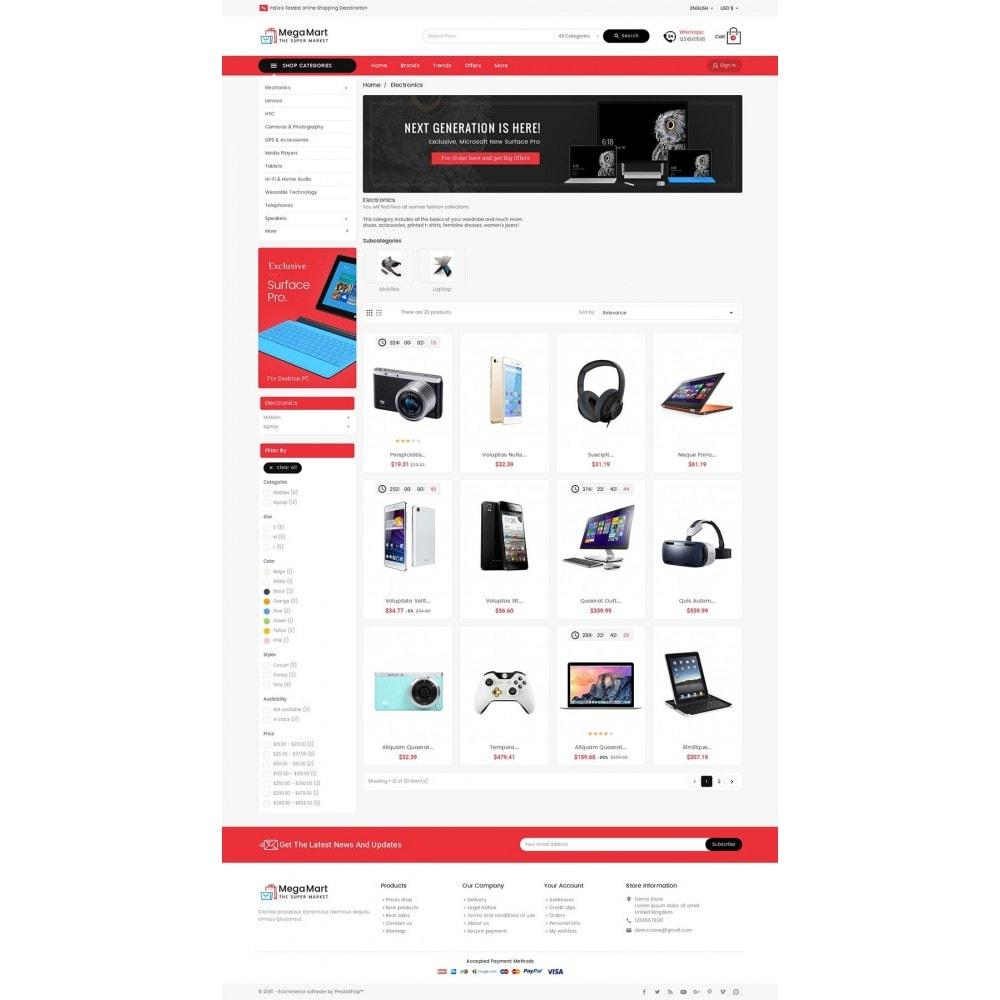 theme - Electrónica e High Tech - Mega Mart Electronics - 4