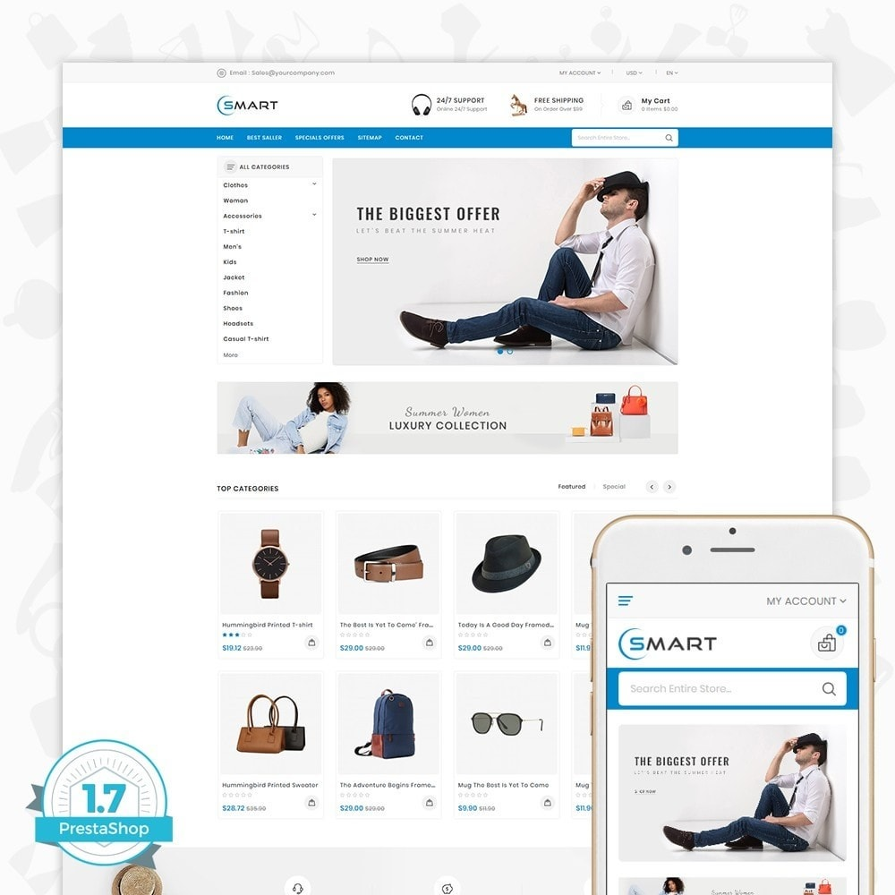theme - Moda & Obuwie - Smart  - The Smart Store - 1