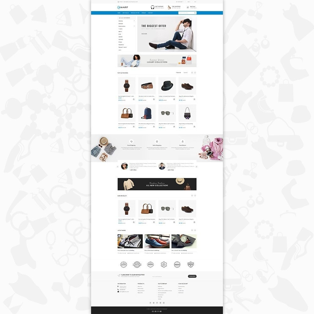theme - Moda & Obuwie - Smart  - The Smart Store - 2