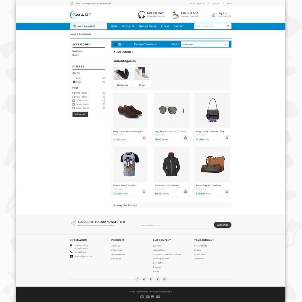 theme - Moda & Obuwie - Smart  - The Smart Store - 3