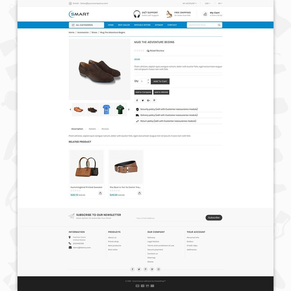 theme - Moda & Obuwie - Smart  - The Smart Store - 5
