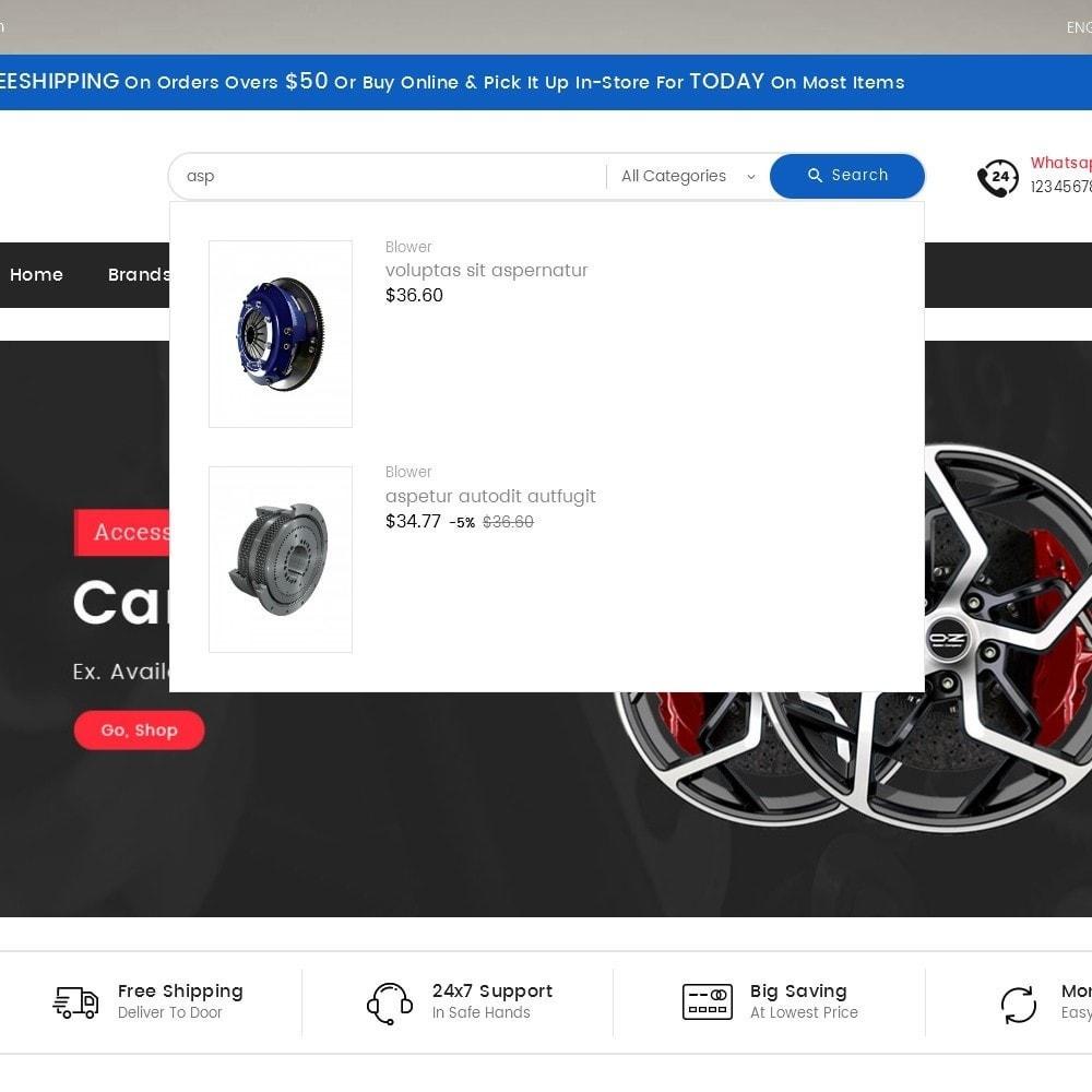 theme - Coches y Motos - Mega Mart Auto Parts - 11