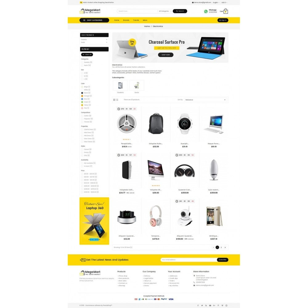 theme - Elektronik & High Tech - Mega Electronics Mart - 4
