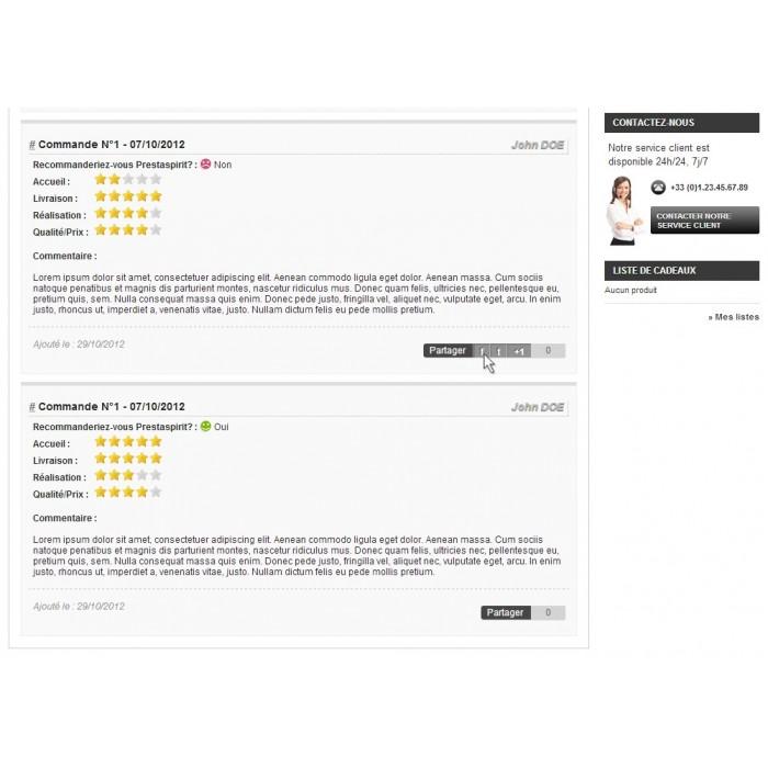 module - Formulario de contacto y Sondeos - Satisfaction Survey - 17