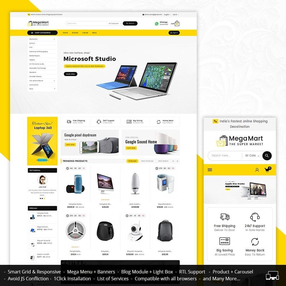 theme - Electronique & High Tech - Mega Electronics Mart - 2