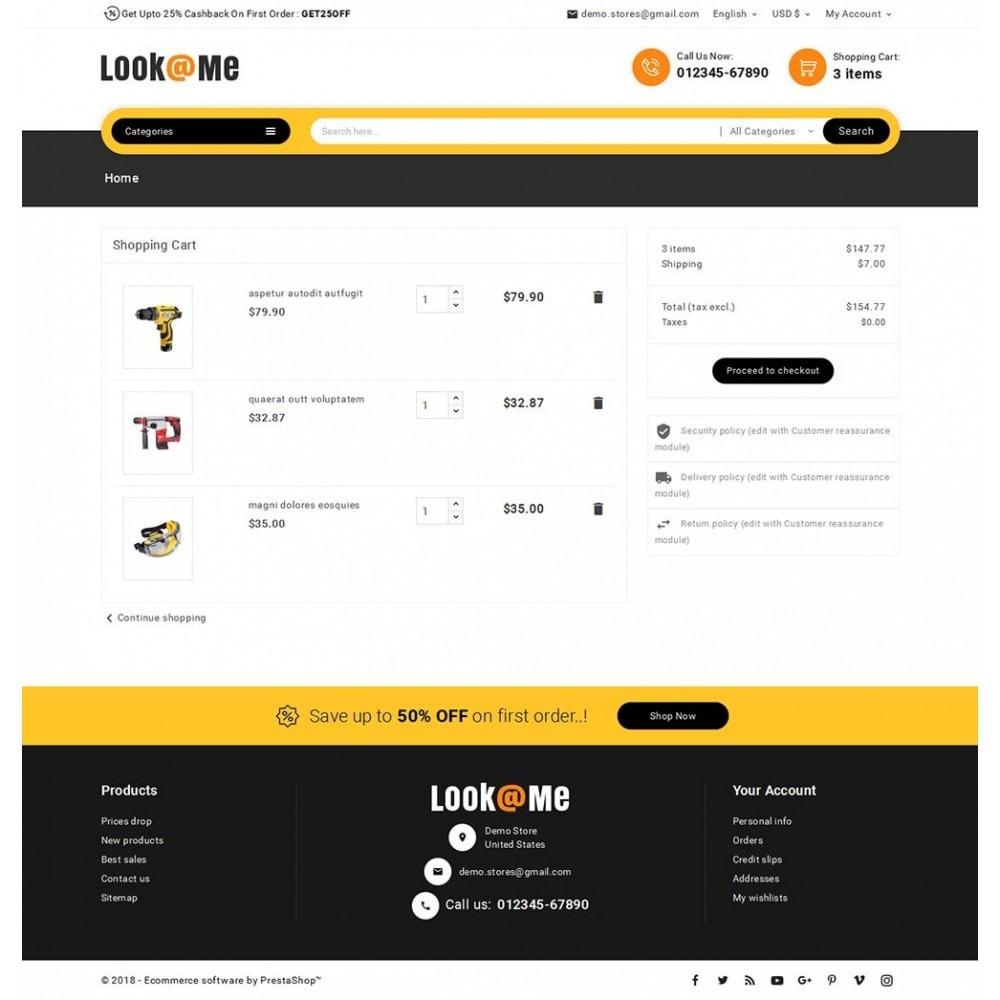 theme - Electrónica e High Tech - Look me Tools Equipment - 7