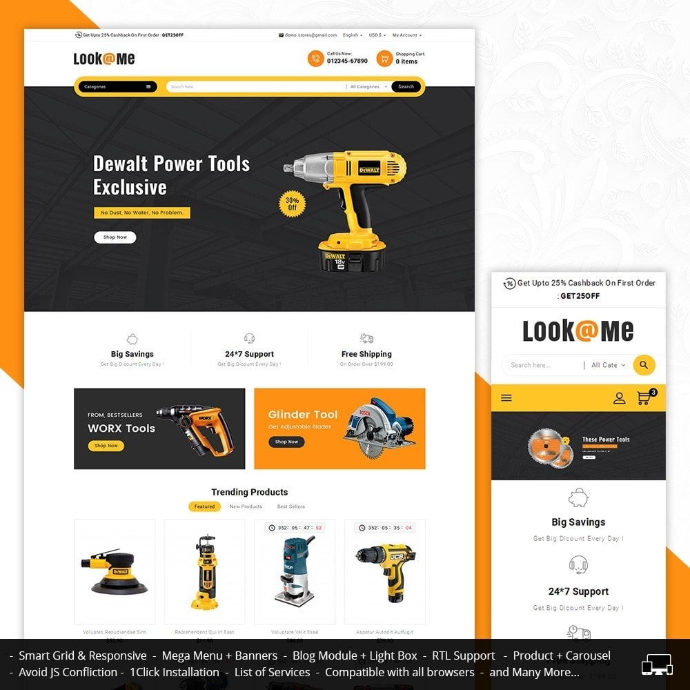 theme - Elettronica & High Tech - Look me Tools Equipment - 2
