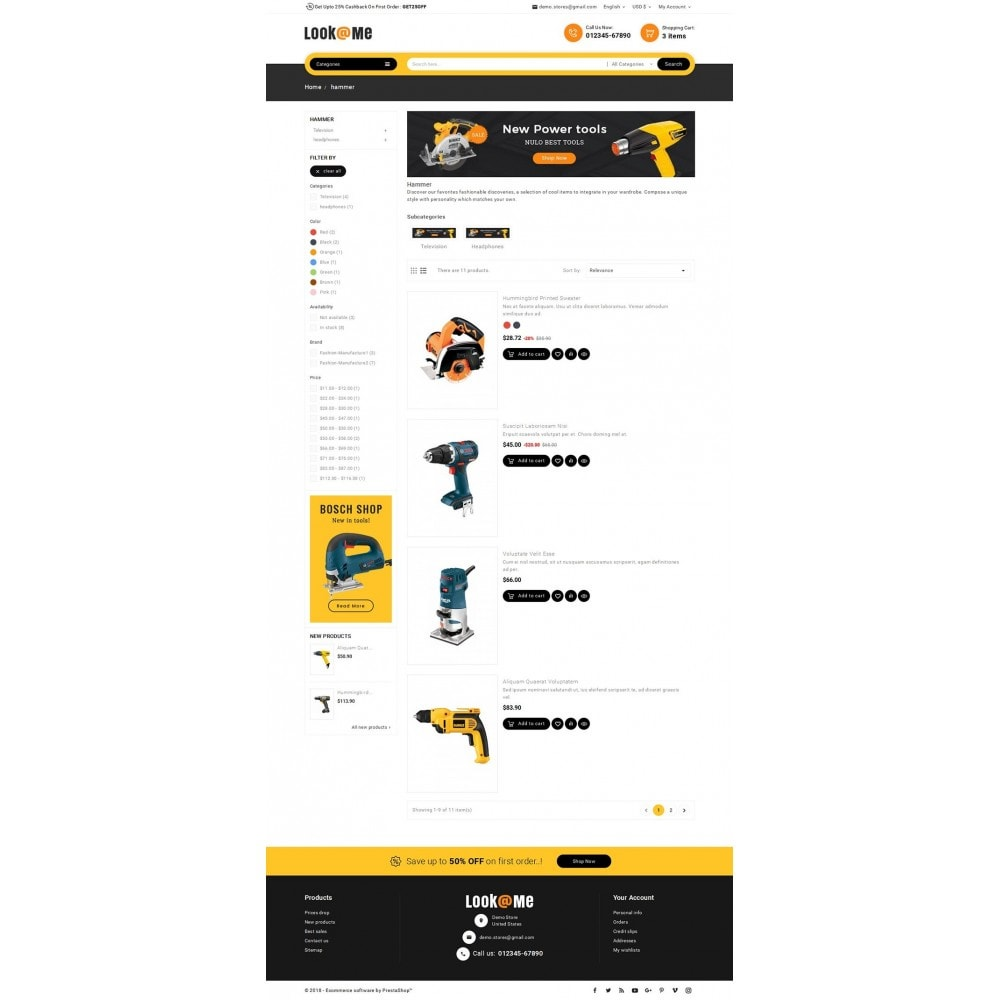 theme - Elettronica & High Tech - Look me Tools Equipment - 5