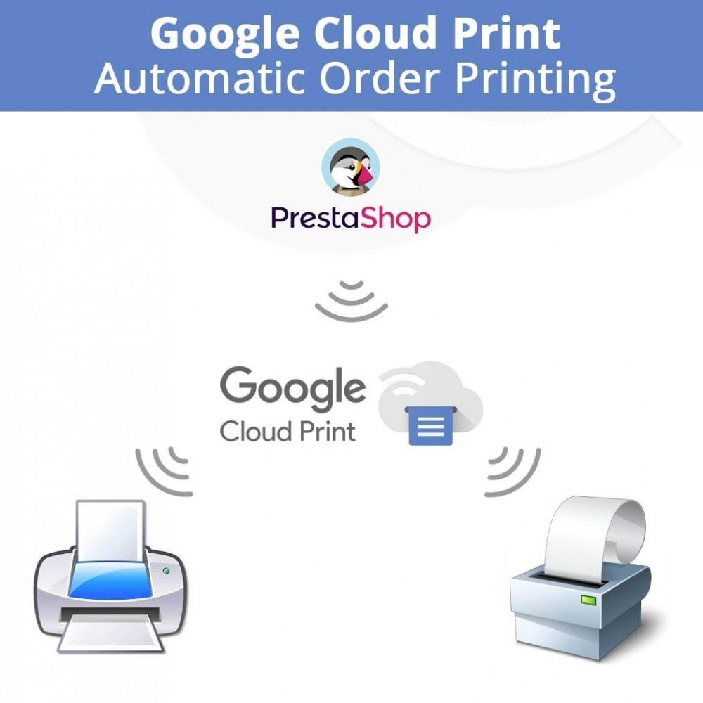 module - Preparation & Shipping - Google Cloud Print Automatic Order Printing - 1