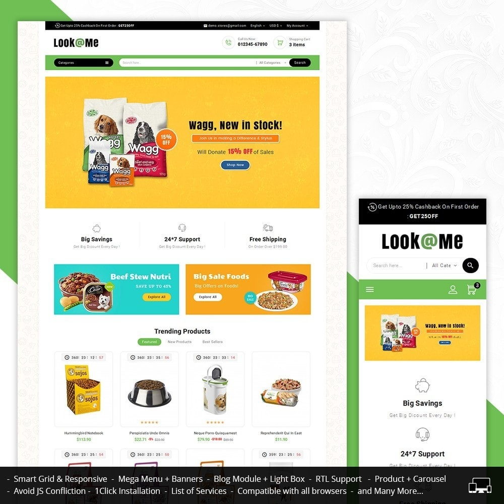 theme - Animaux - Look me Pets Store - 2