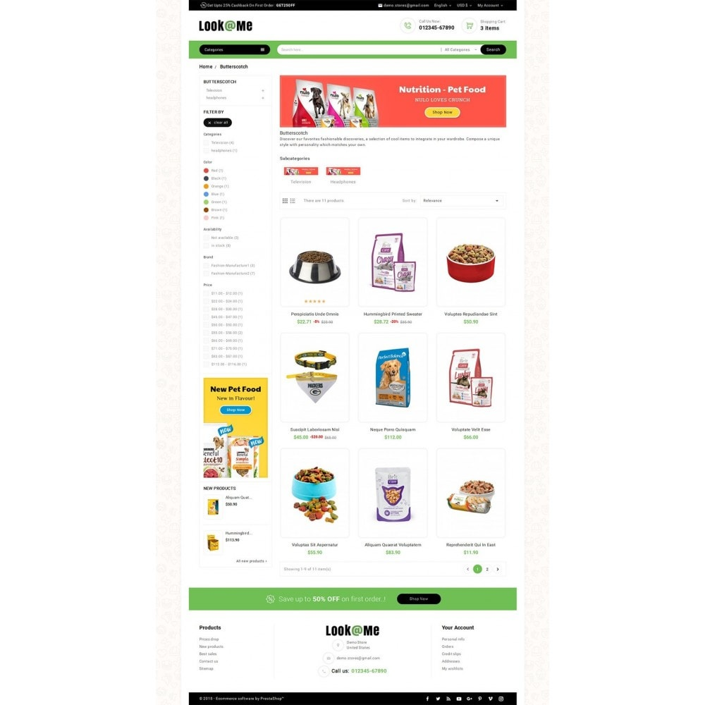theme - Animaux - Look me Pets Store - 4
