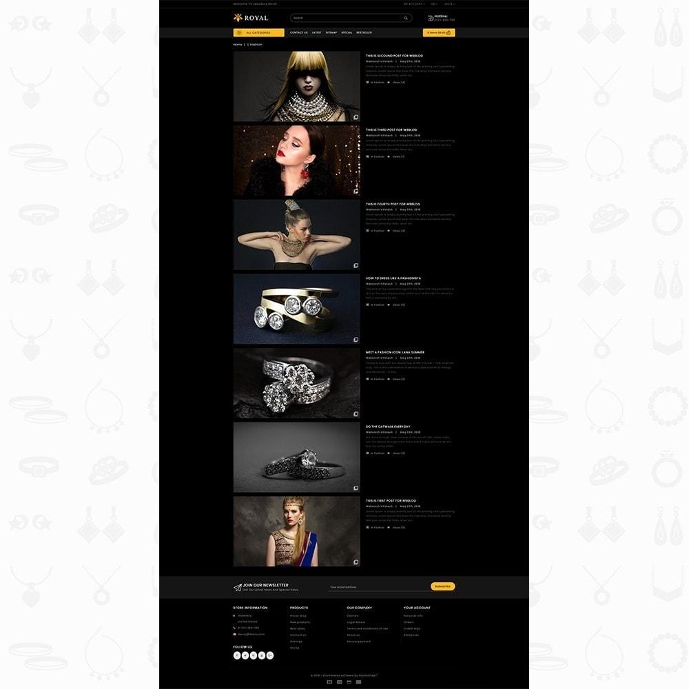 theme - Ювелирные изделия и Аксессуары - Royal Jewellery Shop - 7