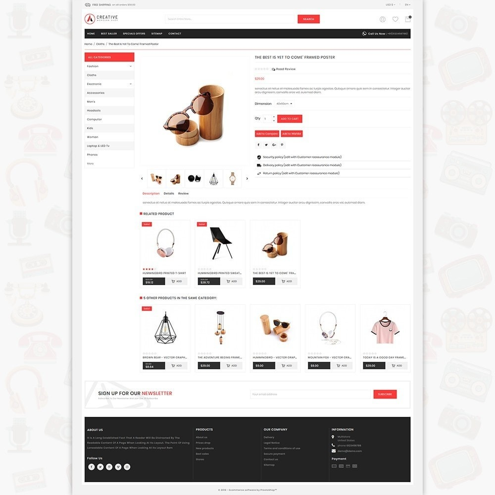theme - Mode & Chaussures - Creative - The Modern Shop - 5