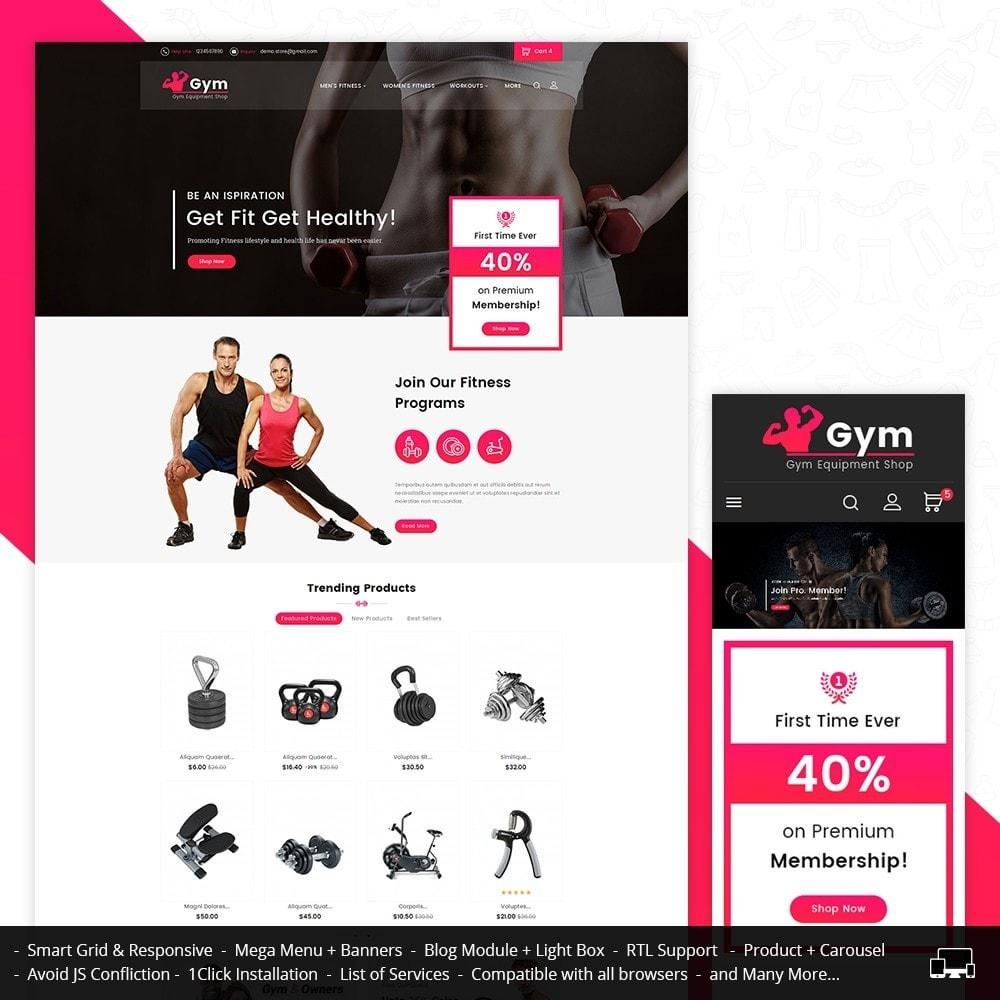 theme - Deportes, Actividades y Viajes - Gym Equipment Store - 2