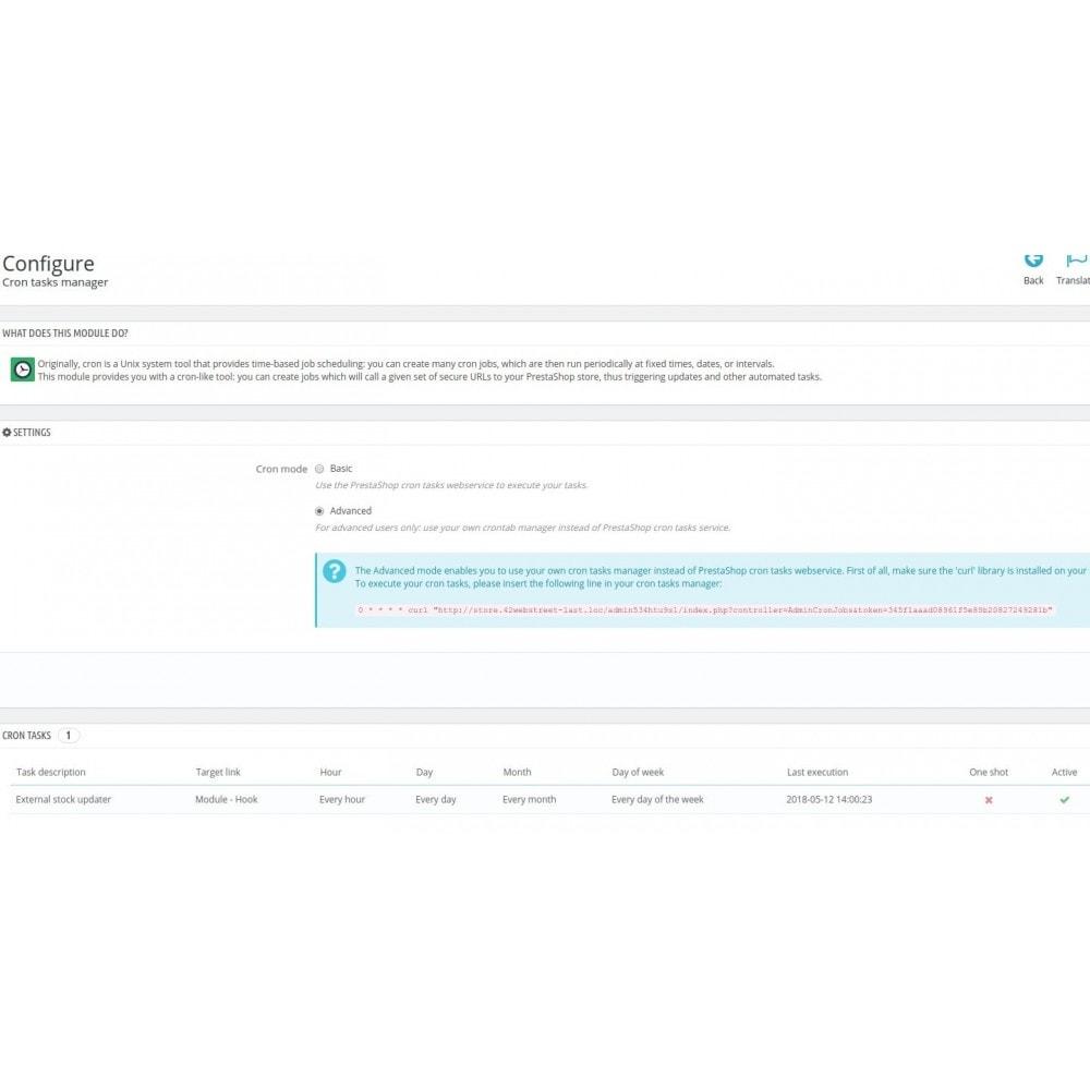 module - Gestión de Stock y de Proveedores - External stock updater (mystockupdater) - 2