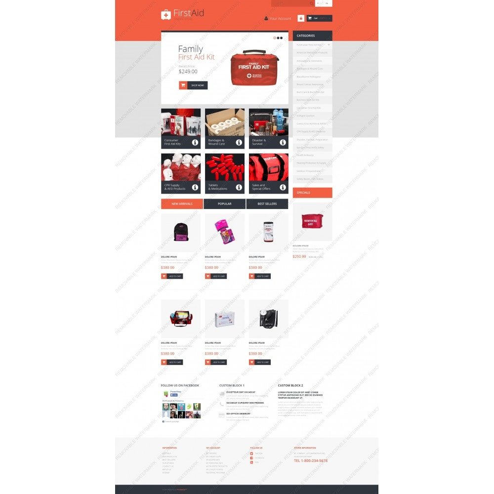 theme - Health & Beauty - First Aid Store - 3