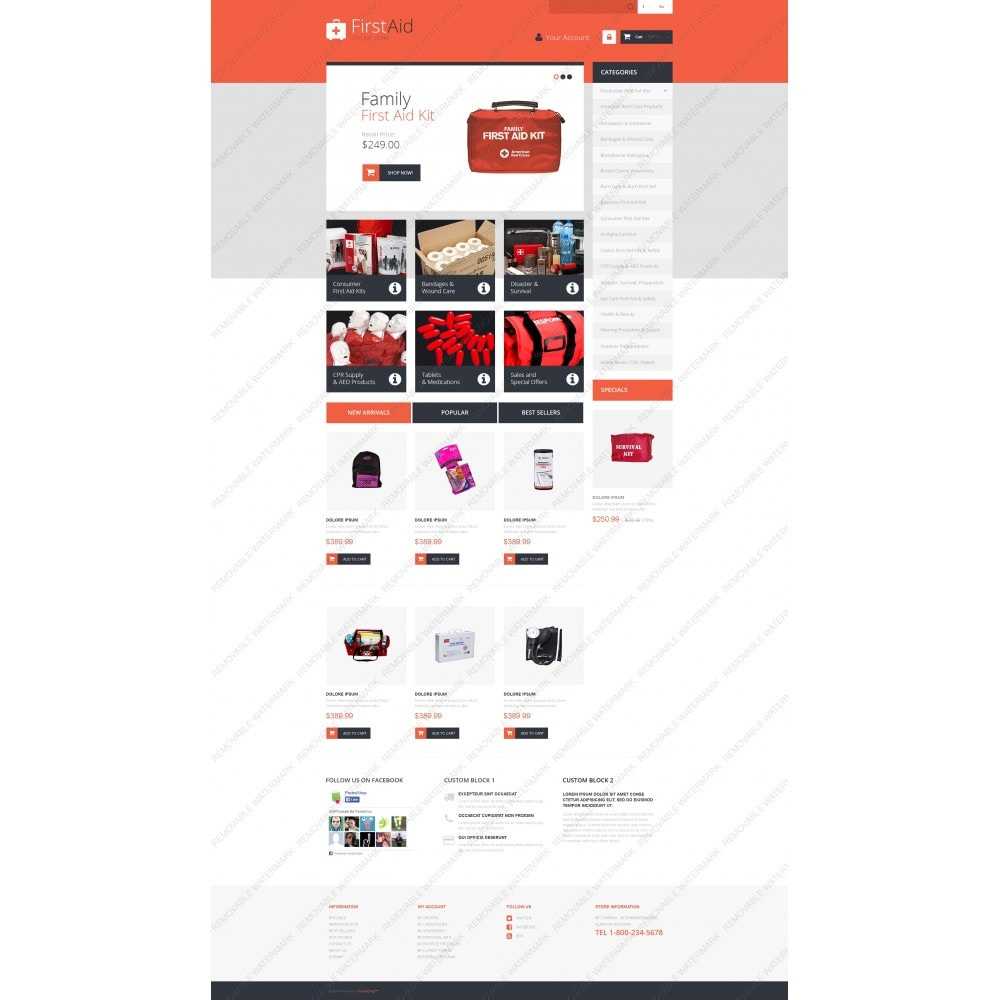 theme - Health & Beauty - First Aid Store - 5