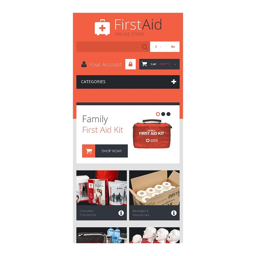 theme - Health & Beauty - First Aid Store - 8