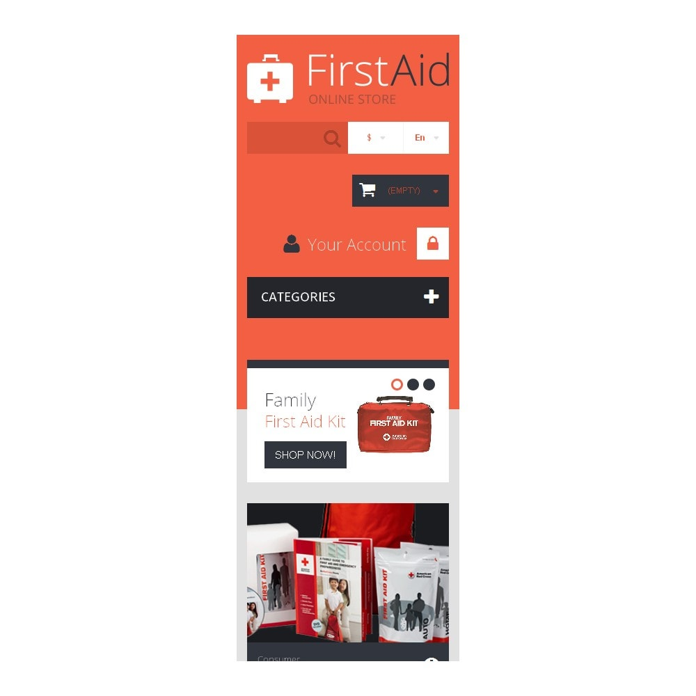 theme - Health & Beauty - First Aid Store - 9