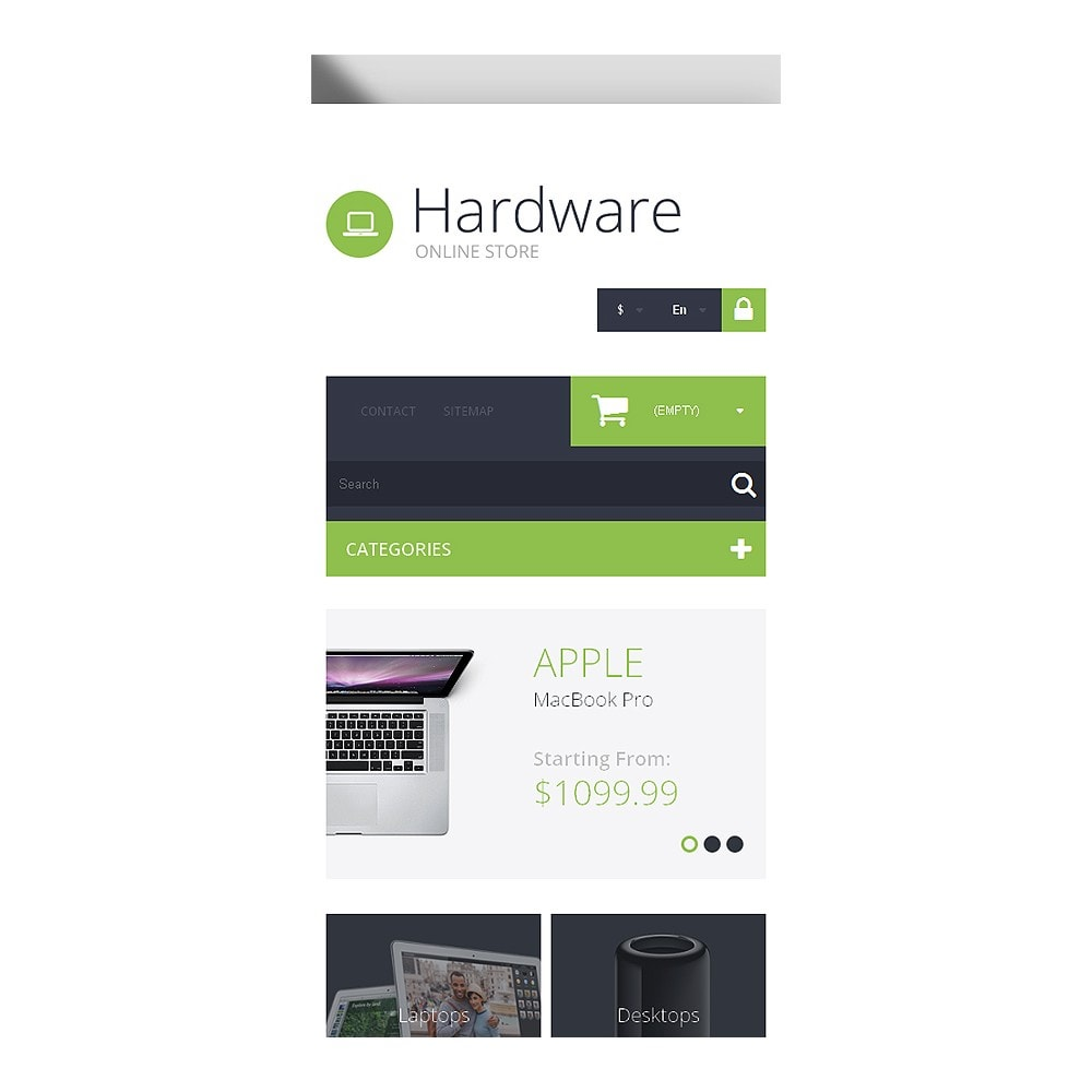 theme - Electronics & Computers - Hardware Provider Company - 8