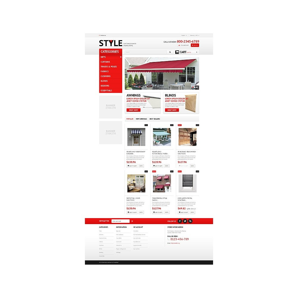 theme - Arte & Cultura - Interior Blinds and Curtains - 10
