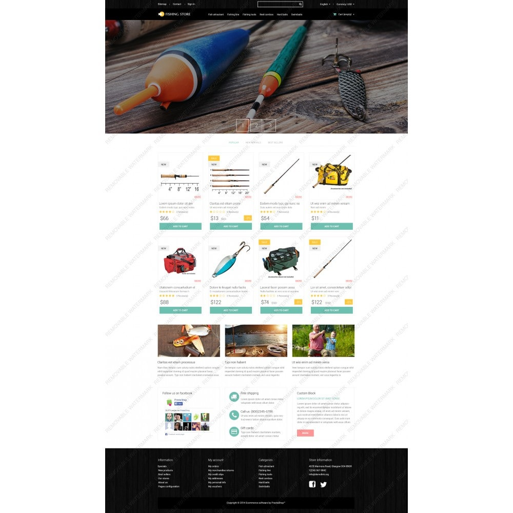 theme - Спорт и Путешествия - Fishing Accessories - 3