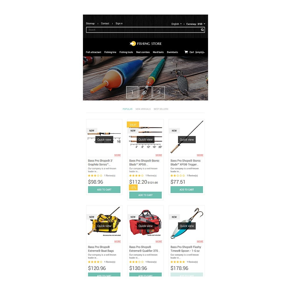 theme - Sport, Rozrywka & Podróże - Fishing Accessories - 8