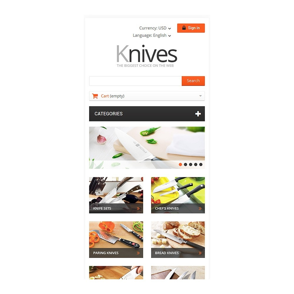 theme - Kunst & Cultuur - Selling Knives - 8