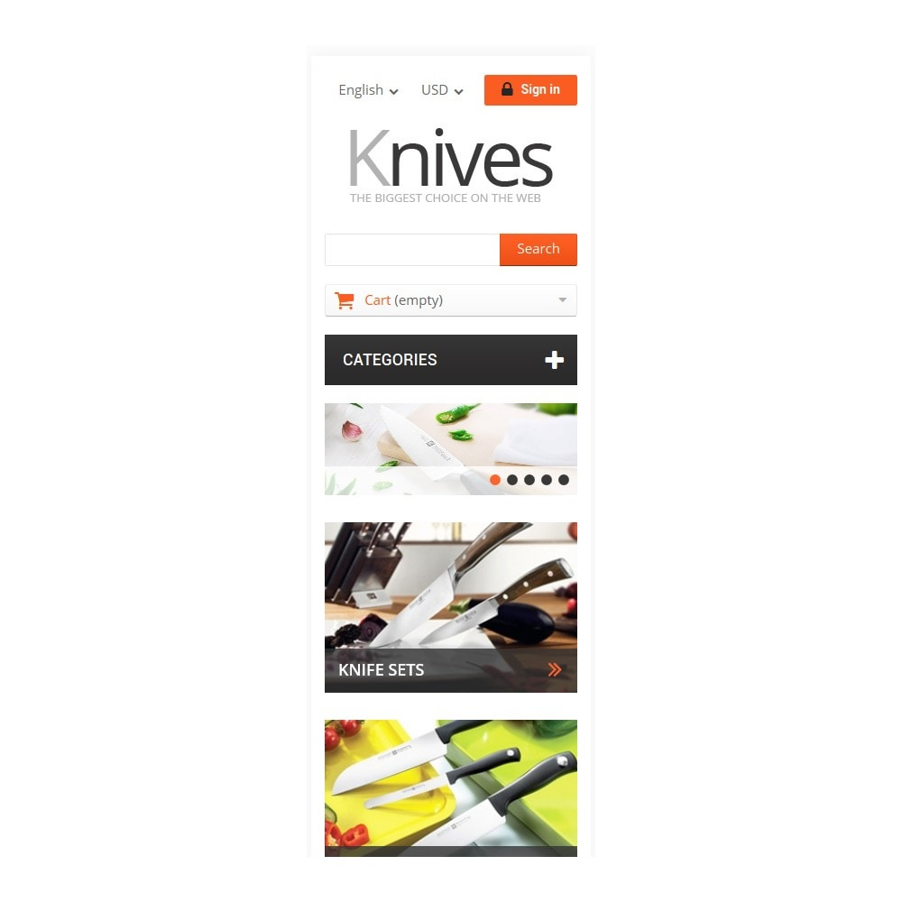 theme - Kunst & Cultuur - Selling Knives - 9