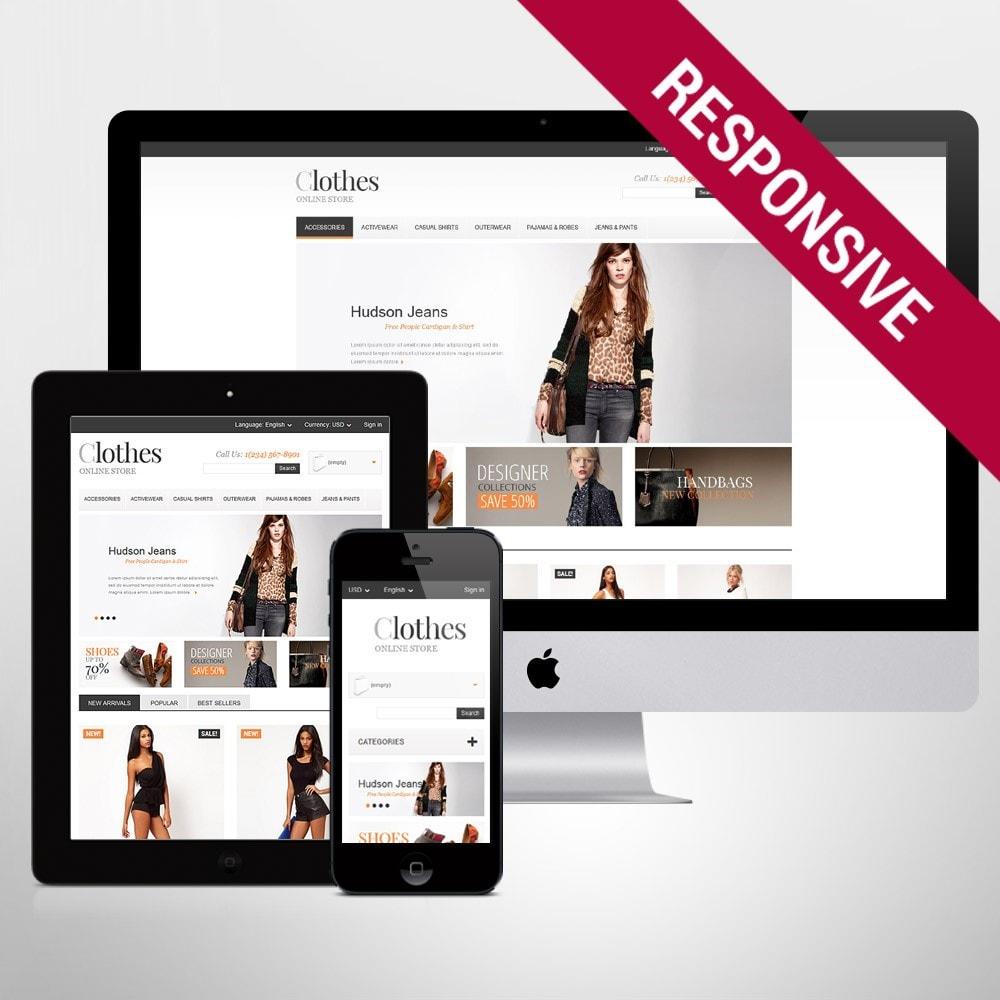 theme - Fashion & Shoes - Apparel Store - 1