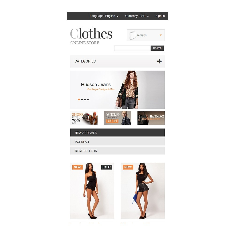 theme - Fashion & Shoes - Apparel Store - 8