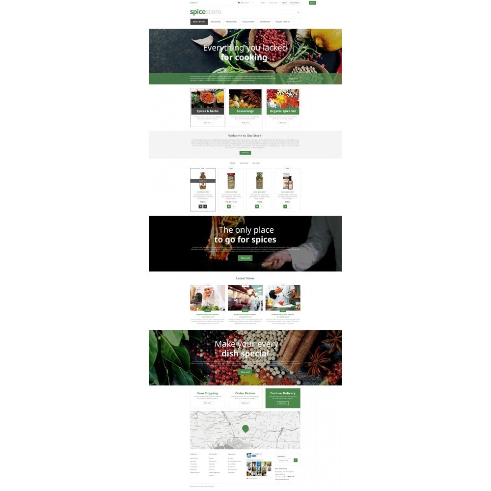 theme - Food & Restaurant - Grocery Shop - 4