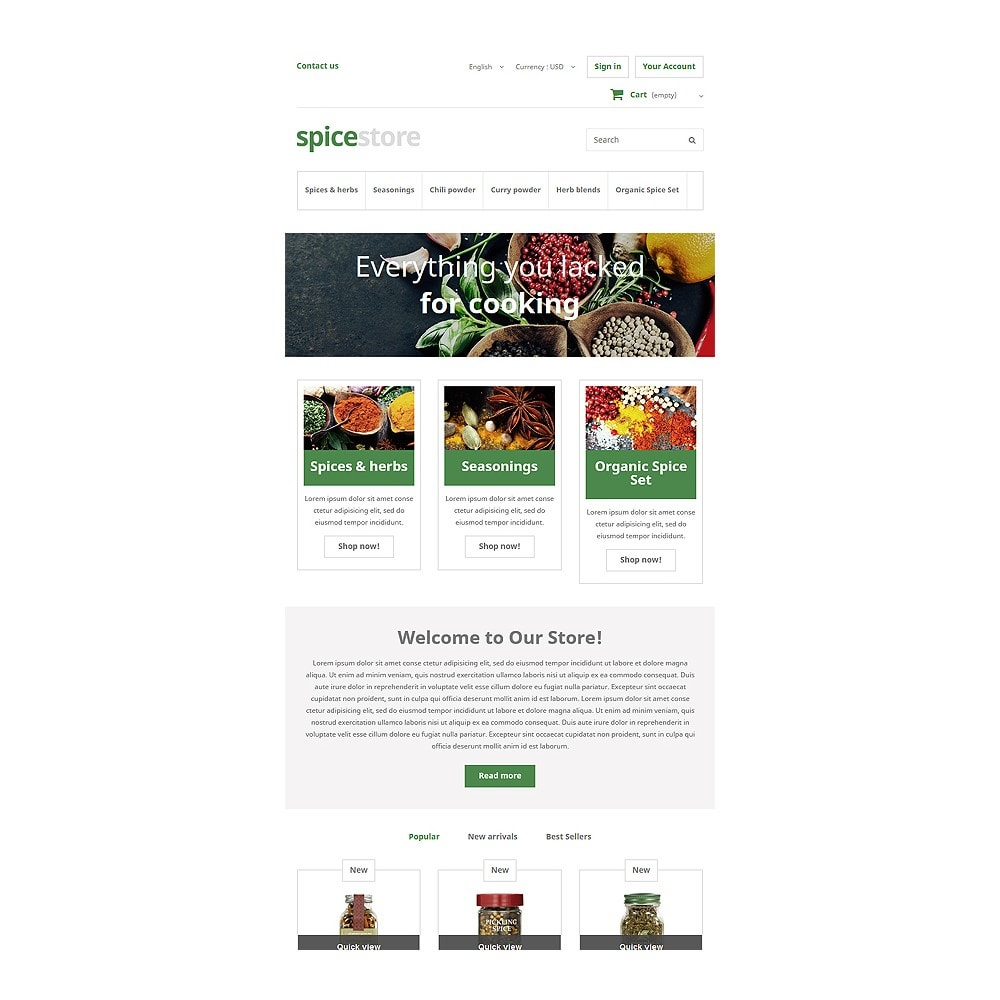 theme - Food & Restaurant - Grocery Shop - 7