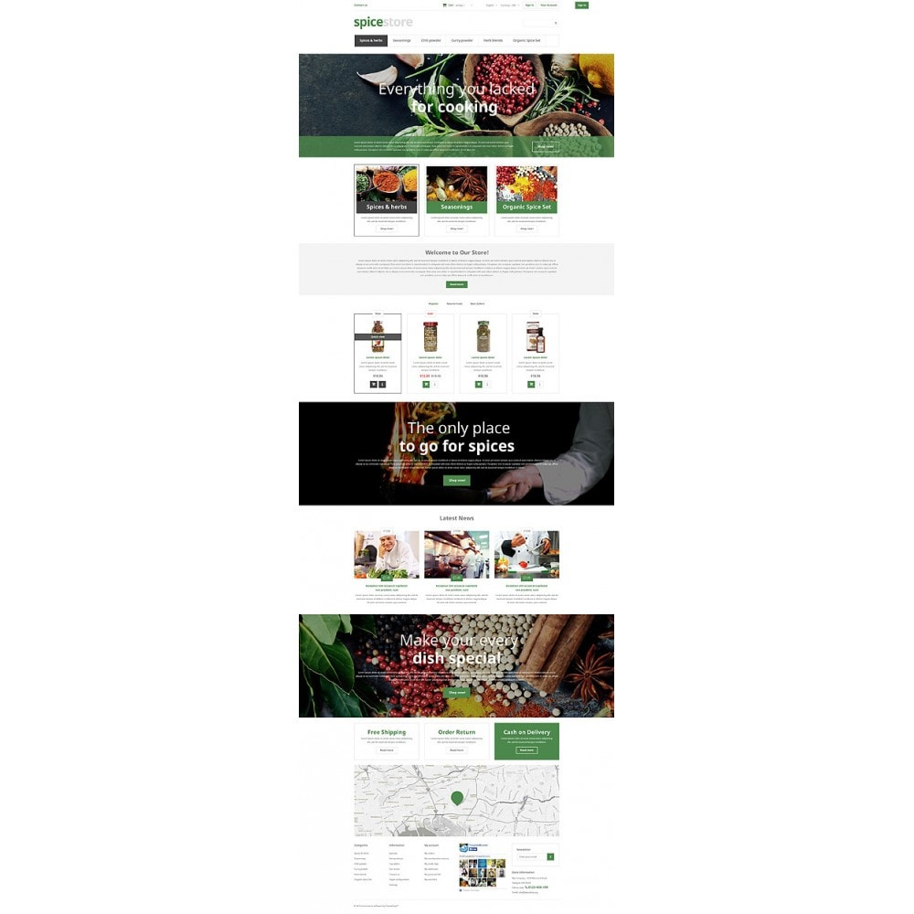 theme - Food & Restaurant - Grocery Shop - 10