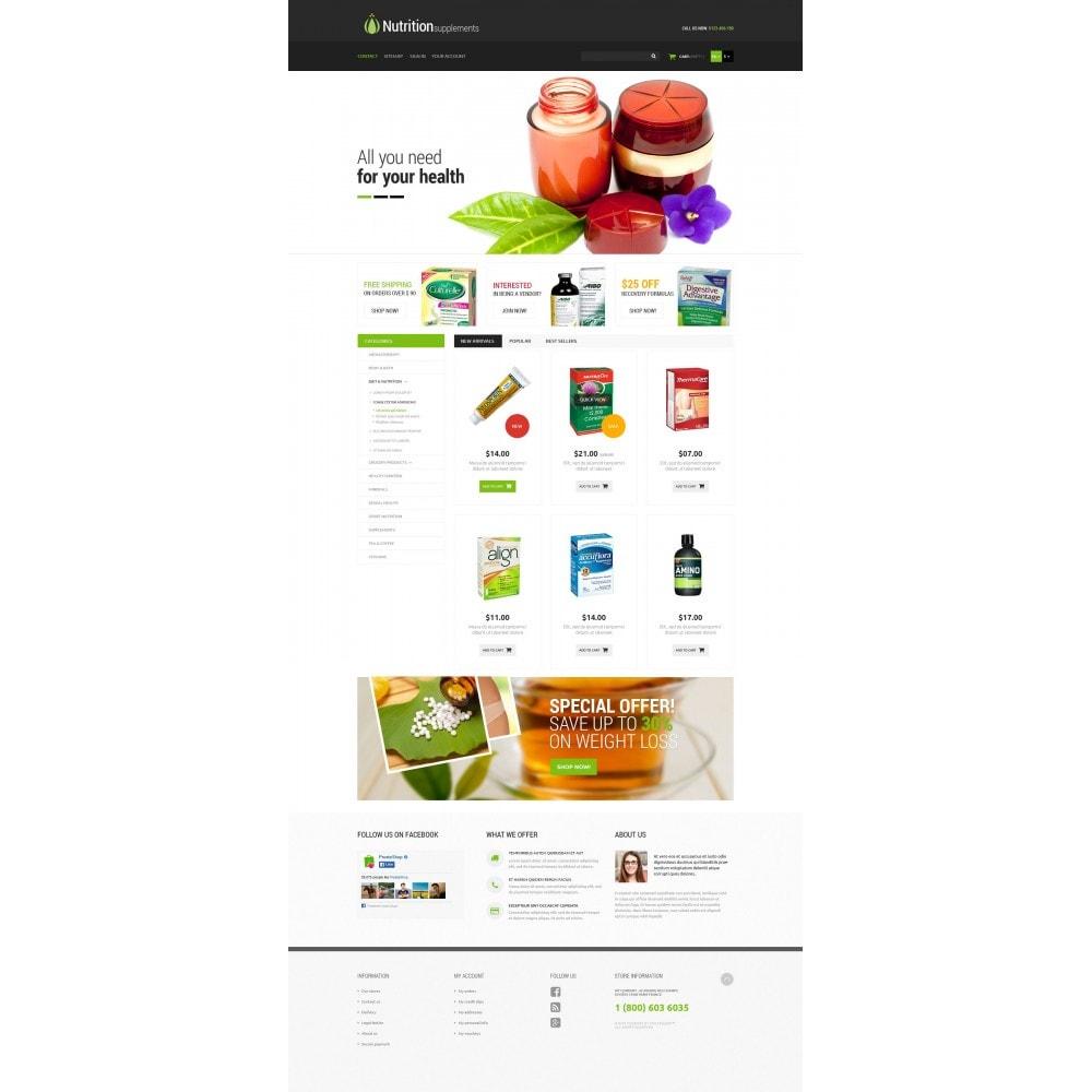theme - Здоровье и красота - Nutrition Products - 4
