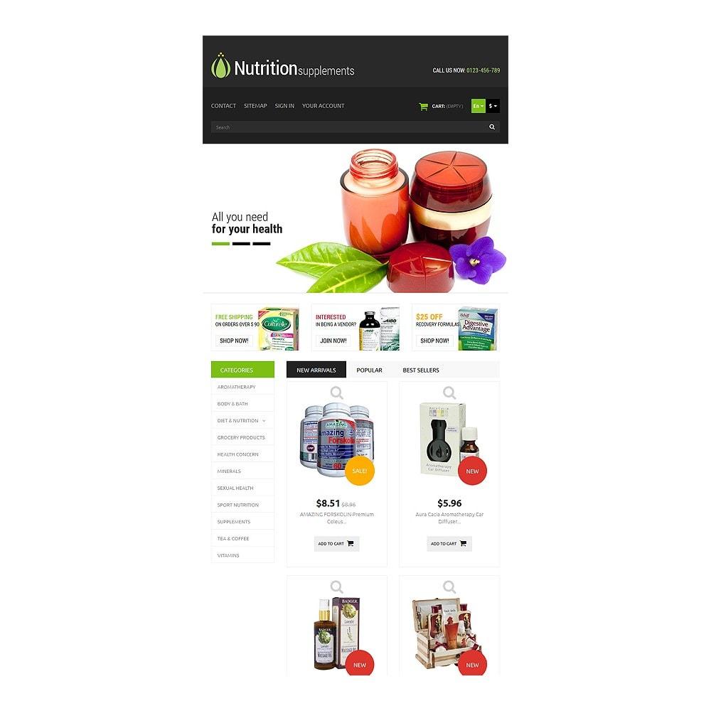 theme - Здоровье и красота - Nutrition Products - 7