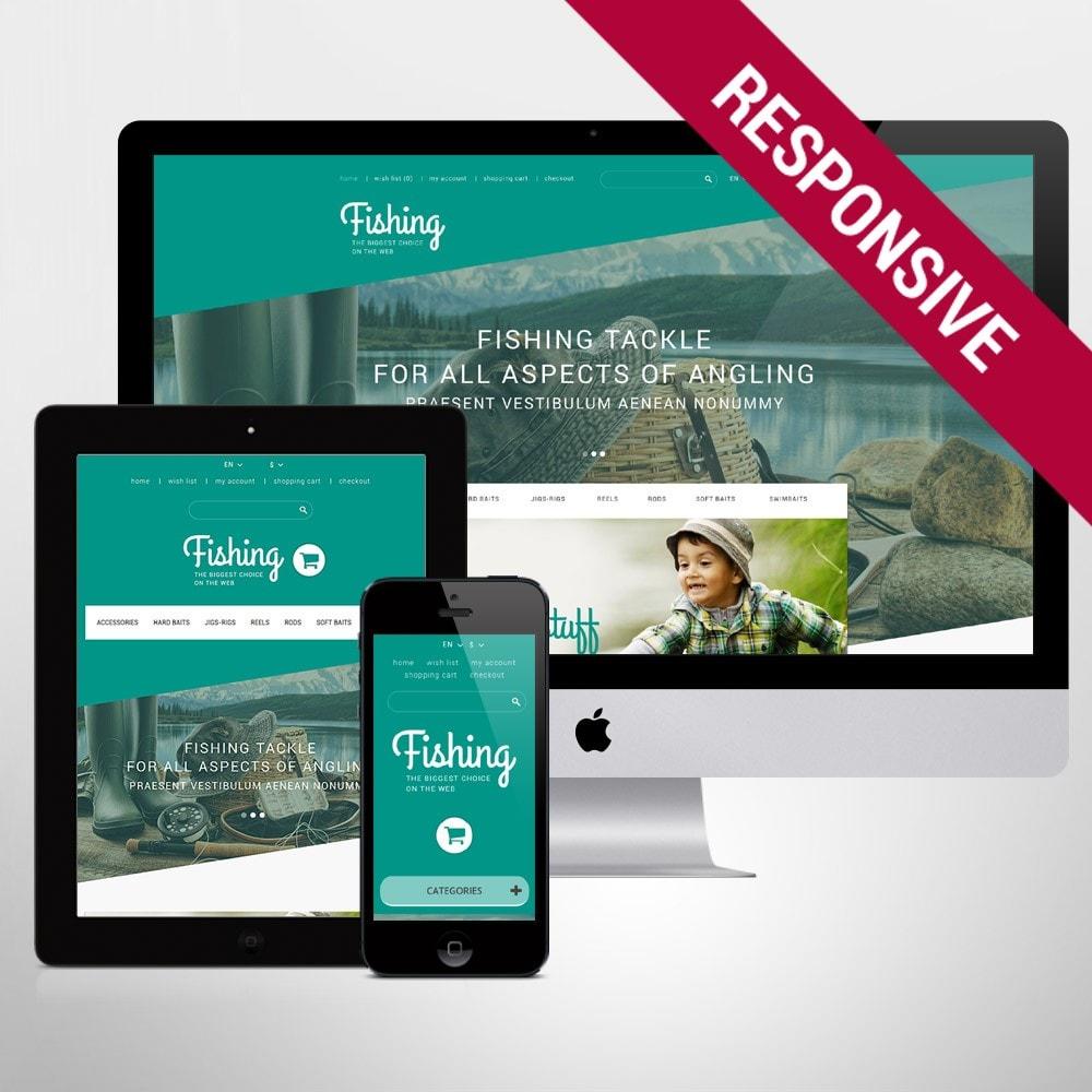 theme - Sport, Rozrywka & Podróże - Fishing Store - 1