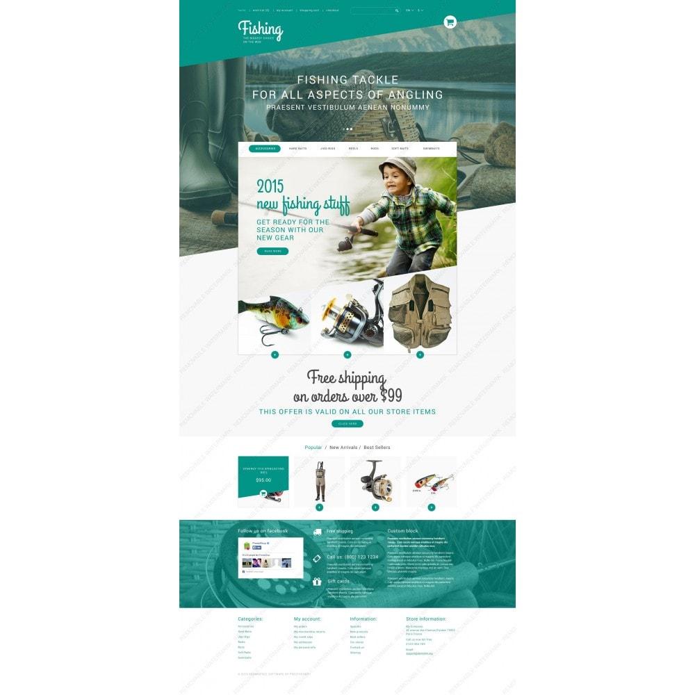 theme - Sport, Rozrywka & Podróże - Fishing Store - 3