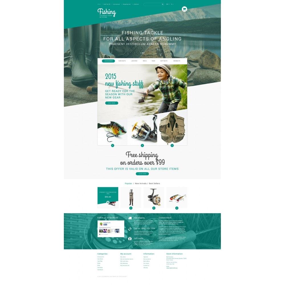 theme - Sport, Rozrywka & Podróże - Fishing Store - 4