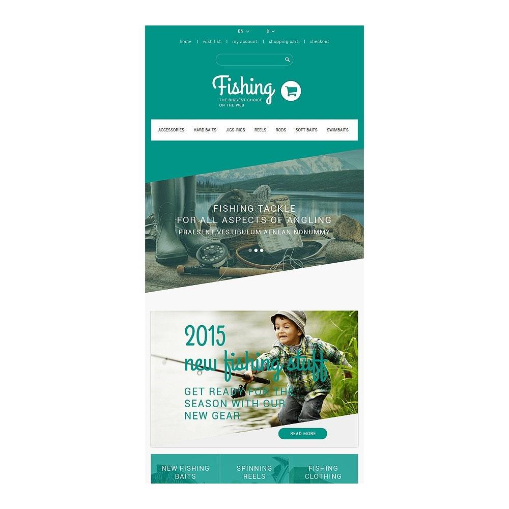 theme - Sport, Rozrywka & Podróże - Fishing Store - 7