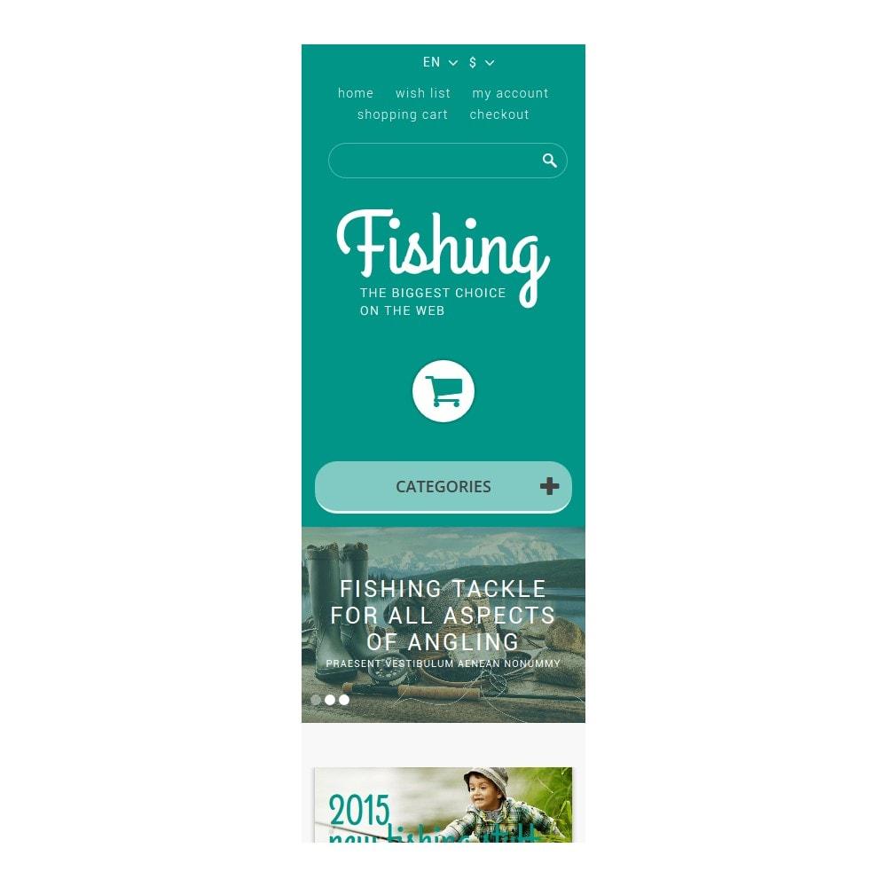 theme - Sport, Rozrywka & Podróże - Fishing Store - 9